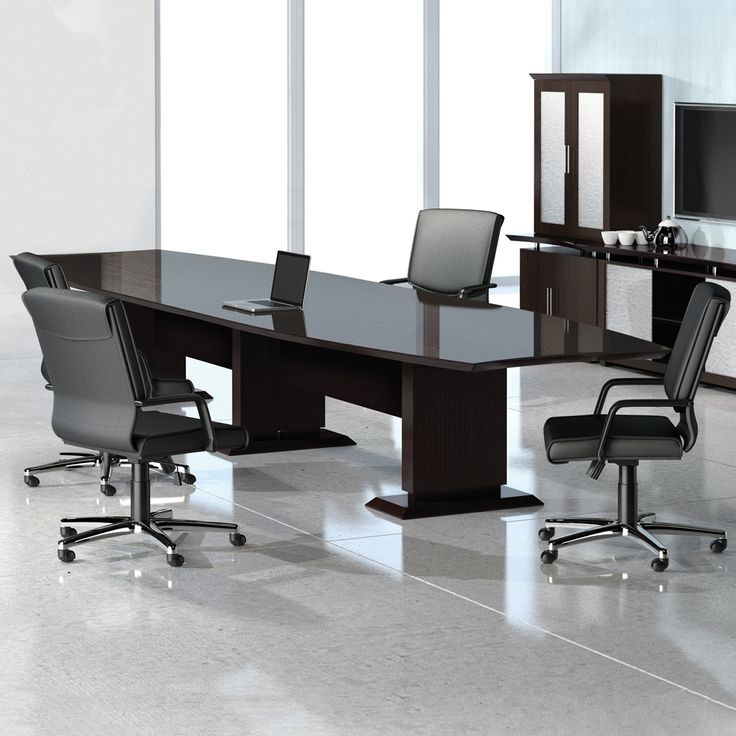 Curved Boat Shaped Conference Table 10 Office Interiordesign Furniture Interiordesign Coworking Coworkingspace Wal Conference Table Furniture Table