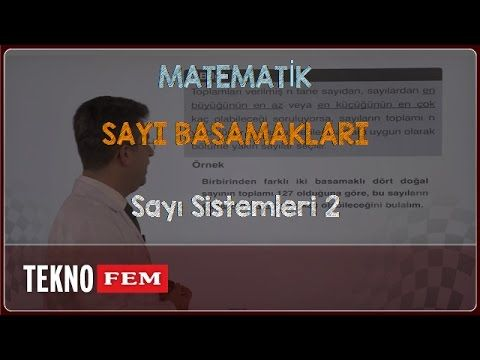 YGS-LYS MATEMATİK - Sayı Sistemleri 2 - YouTube