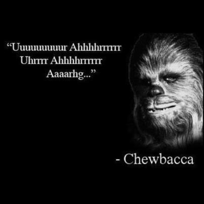 Frase de Chewbacca #Quote