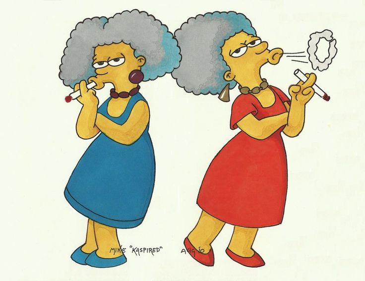 39 best the simpsons images on pinterest the simpsons - Selma bouvier ...