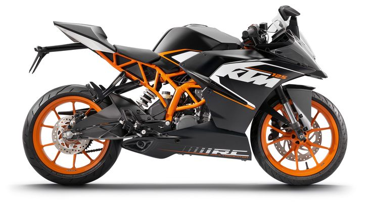 KTM RC 125 2014: Confident of victory Oh how long will it take to get here for our little gp racers..  #ktm #rc125 #motogp