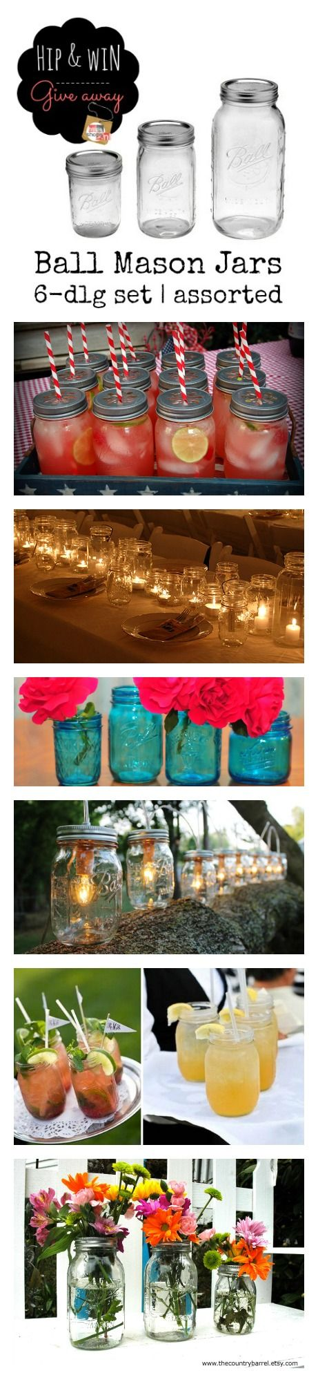 Ball Mason Jars - inspiring ideas
