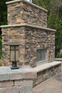 Stone Outdoor Fireplace Bedford Stone Hearth Pennsylvania Dry Stack