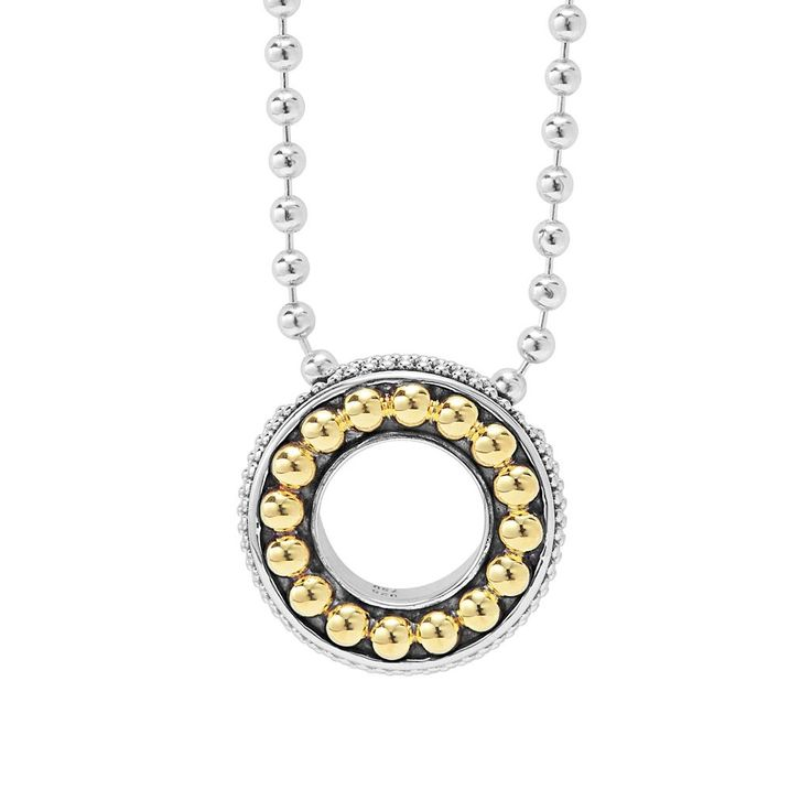 193 best lagos images on pinterest caviar 18k gold and green quartz lagosjewelry enso circle pendant necklace holiday gifts lagos lovelagos mozeypictures Images