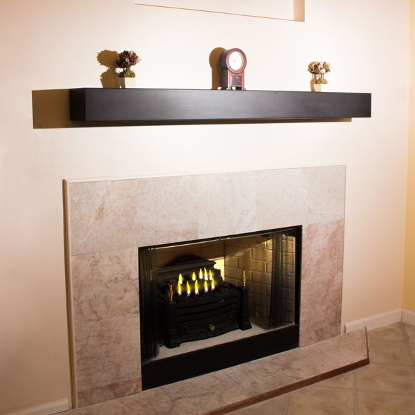 Fireplace mantle and Mantel shelf