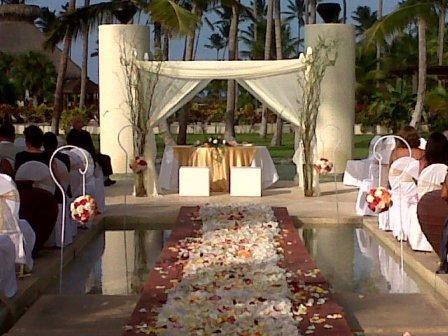 NOW Larimar beautiful gazebo set up | Weddings in PUNTA ...