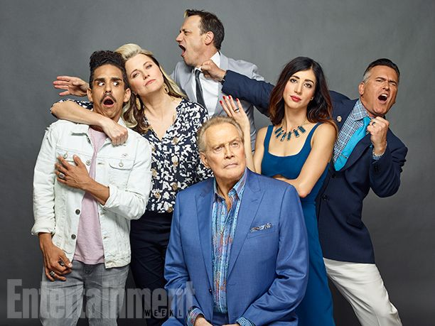 Comic-Con 2016 Star Portraits: Day 2   Ray Santiago, Lucy Lawless, Ted Raimi, Dana Delorenzo, Bruce Campbell and Lee Majors,…