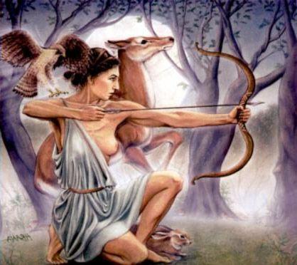 Oggi parliamo di Artemide: dea vergine, rappresenta l' archetipo dell' indipendenza, non è vulnerabile, ma  focalizzata sugli obiettivi..