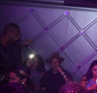 March 7: Justin spotted at Ivy Nightclub in Miami