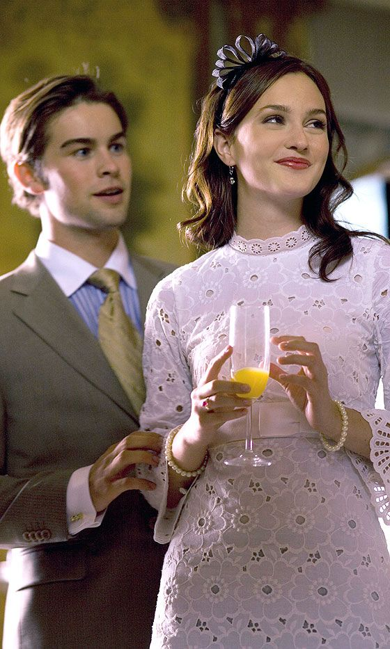 Blair Waldorf (Leighton Meester) And Nate Archibald, 2008