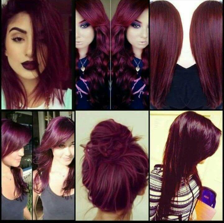 25 beautiful Unique hair color ideas on Pinterest  Dark blue