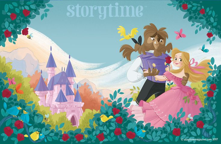 Our full Beauty and the Beast cover by Letitia Rizzo (https://www.behance.net/linoermel) for Storytime Issue 31! ~ STORYTIMEMAGAZINE.COM