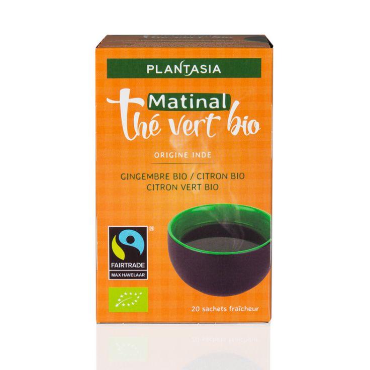 Thé vert matin