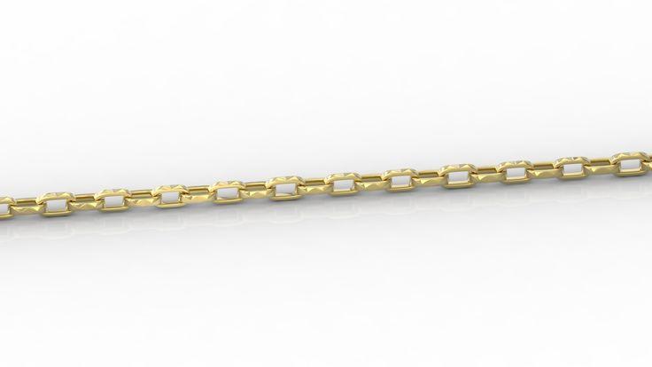 Złoty łańcuch / Gold chain/ #jewellery #gold #chain