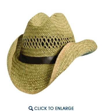 Dorfman Pacific Rush Straw Cowboy Hat for kid's