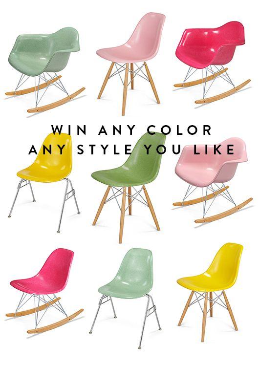 modernica shell chair giveaway. / sfgirlbybay