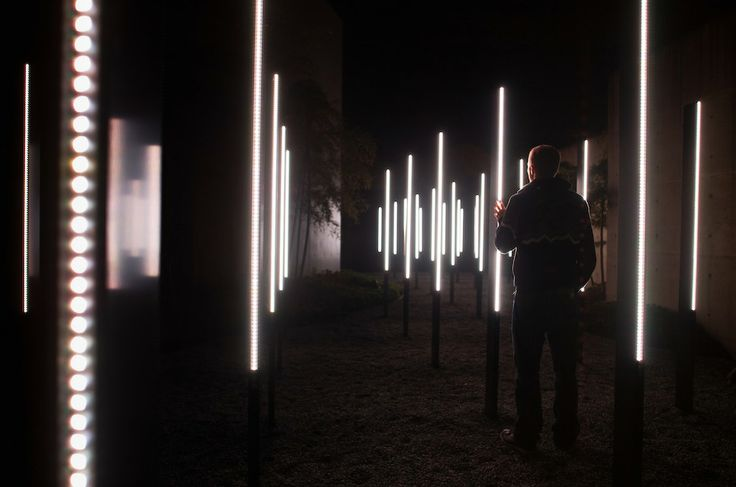 Chris Burden - Urban Light Installation
