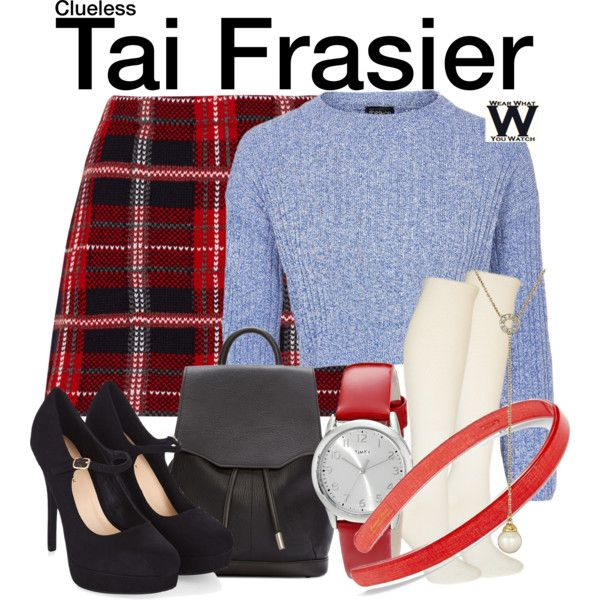 Inspired by Brittany Murphy as Tai Frasier in 1995's Clueless.