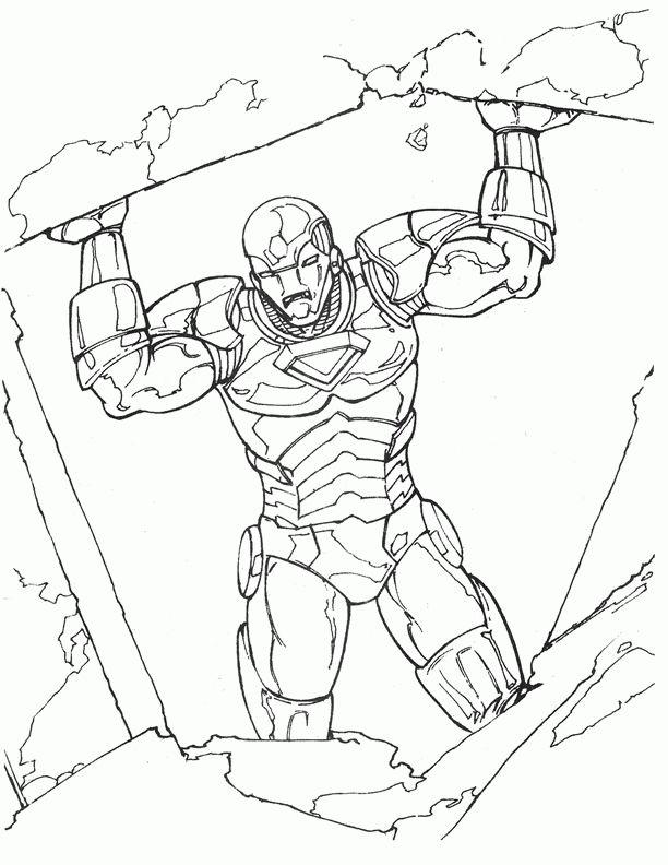 Iron Man 10 Dibujos Faciles Para Dibujar Para Ninos Colorear Coloring Books Coloring Pages Coloring Pages For Kids