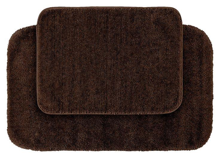 garland rug 3piece traditional nylon washable bathroom rug bath mat set
