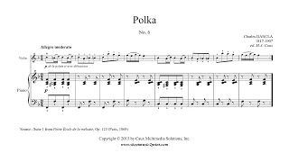 "Charles DANCLA (1817-1907) : Polka in F Major, Op. 123, Suite 1, No. 6 From ""Petite École de la mélodie"", Op. 123 (Paris, 1868) www.sheetmusic2print.com/Dancla/Polka-123-6.aspx"