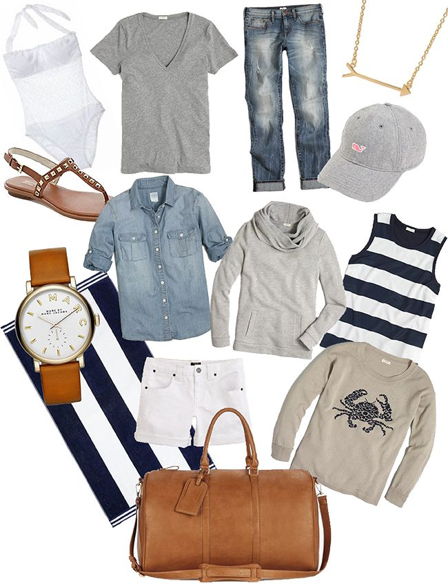 how to pack for a weekend getaway