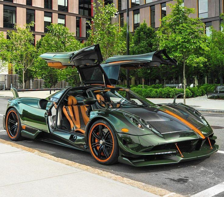 Pagani Huraya >> Green Monster | Pagani Huayra BC | Cars | Pinterest | Green monsters, Pagani huayra and Cars