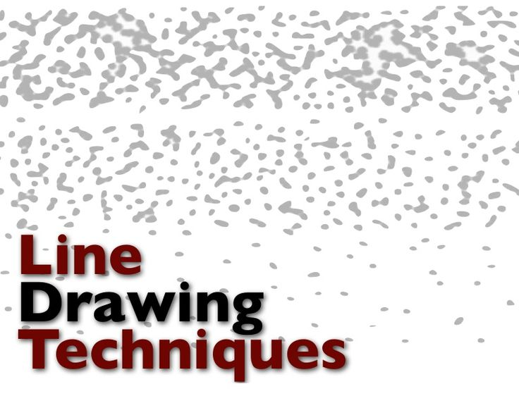 Simple Line Art Lessons : A simple slideshow showcasing some line drawing techniques