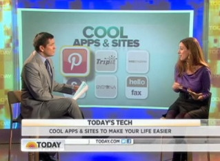 6 apps and websites to help make life easier - Editor-in-Chief of CoolMomTech Liz on The Today Show!