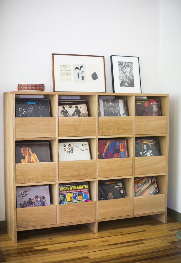Killscrow. New Vinyl Cabinet with soft close drawers  http://killscrow.com/