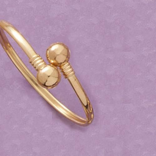 Stylish Adjustable Big Balls Bangle on #iDealSmarter