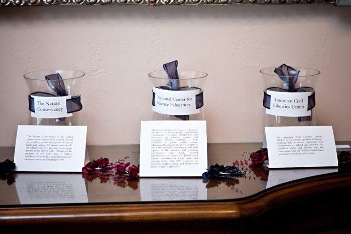 ... wedding reception wedding stuff secular wedding forward donations