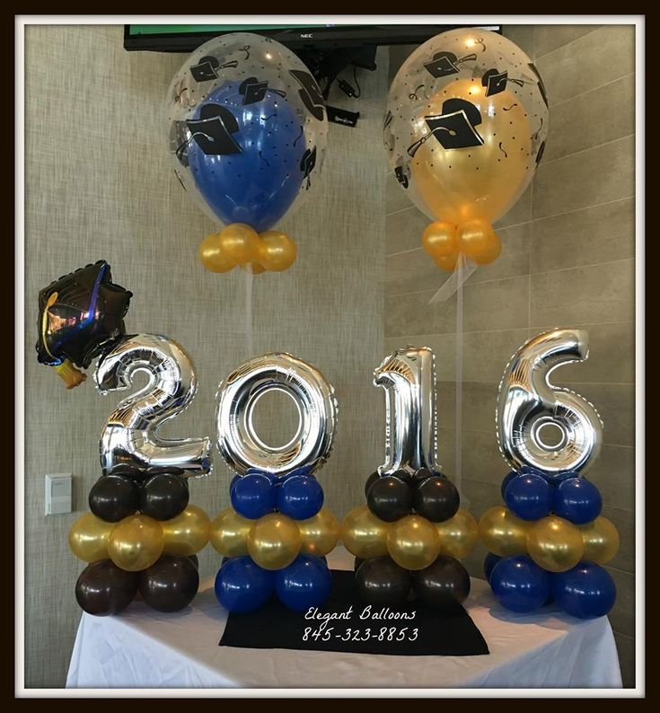 Best 20 balloon arrangements ideas on pinterest balloon for Balloon decoration ideas for graduation