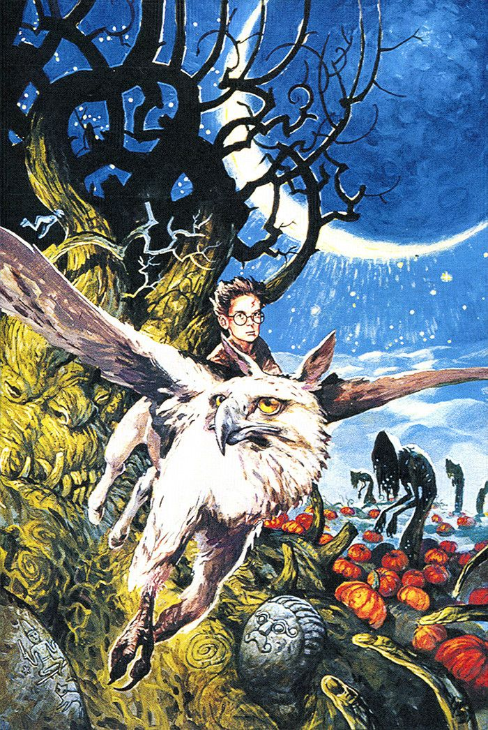 Swedish Harry Potter and the Prisoner of Azkaban book cover