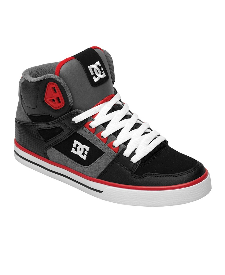 dc shoes high tops red and black. dc spartan high tops. dc shoes tops red and black y