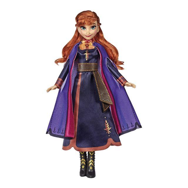 Hasbro Anna Cantarina Frozen El Reino De Hielo Vestidos Púrpura Muñecos De Disney Disney