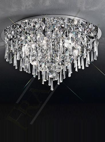 Various flush mounted ceiling chandeliers available at springlights lighting Hillcrest, Durban. For more info go to our website at www.springlights.net