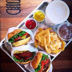 Shake Shack Come for the burgers, stay for the endless photo opps.Shake Shack, East 23rd Street (at Madison Avenue); 212-889-6600.