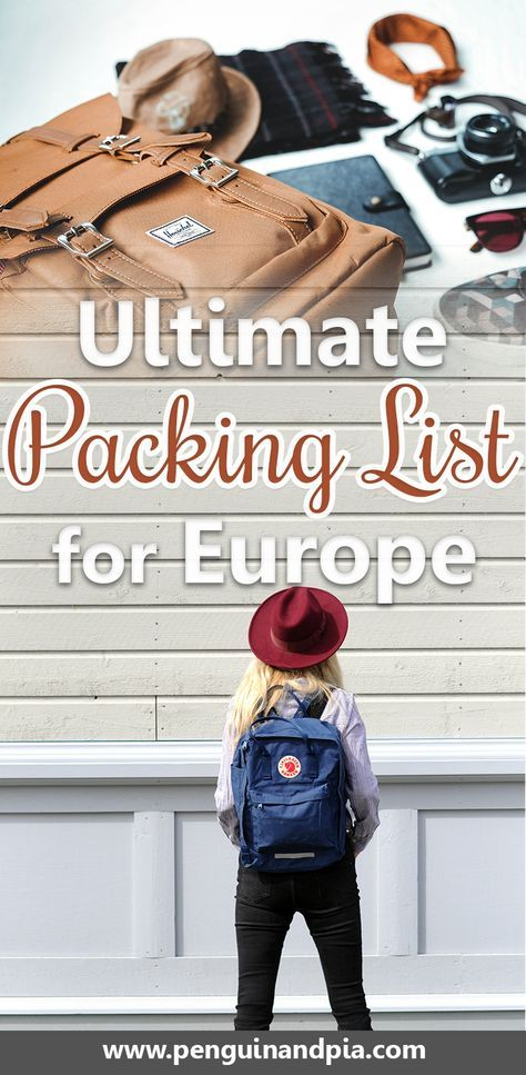 What to Pack for Europe Our Trusty Europe Packing List Packing