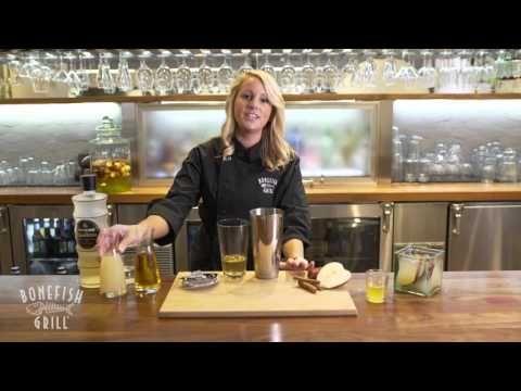 Recipe for Bonefish Grill's Fresh Apple Martini - YouTube
