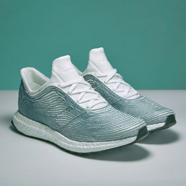 Produced from ocean plastic, adidas and Parley for the Oceans are releasing  a limited run of their collaborative running shoe.