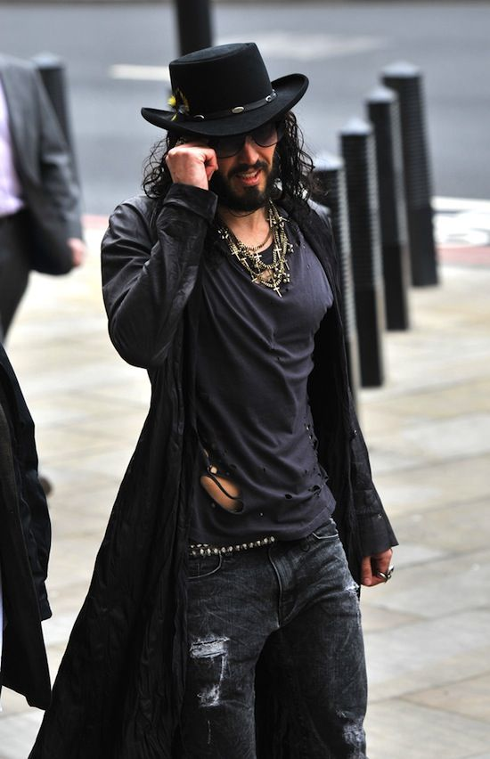 Russell Brand...bringing sexy back!