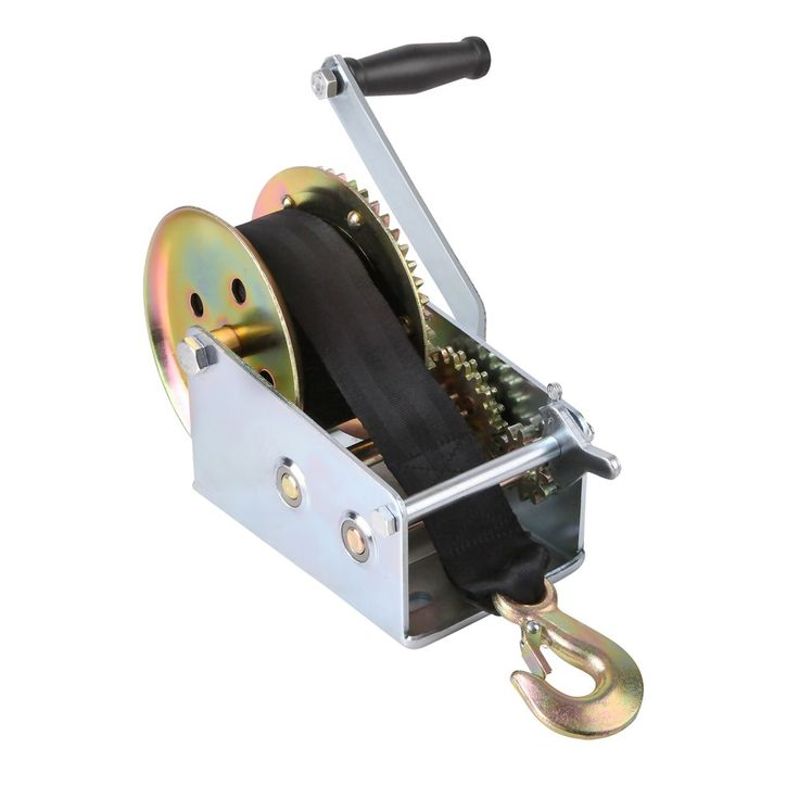2500 LBS 2-Speed 4WD Recovery Hand Winch