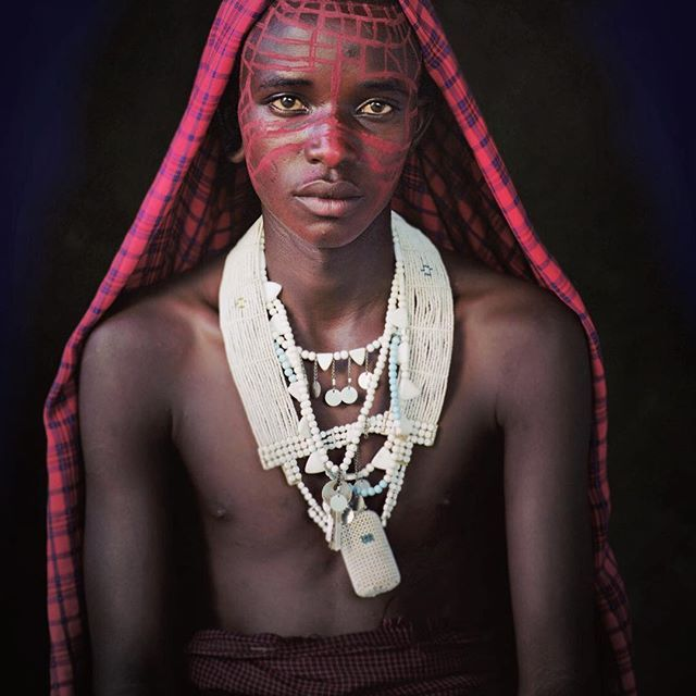 jimmy.nelson.official This week: Maasai, Tanzania.  To be a Maasai is to be born into one of the world's last great warrior cultures. #Maasai #Tanzania Tanzania 2017/07/05 23:43:13