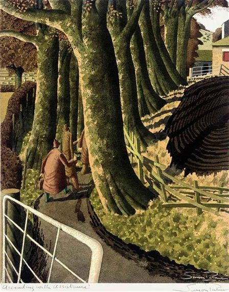 Simon Palmer, Ascending with Assistance