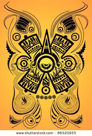 17 best images about tattoo designs on pinterest aztec warrior maya and jaguar. Black Bedroom Furniture Sets. Home Design Ideas