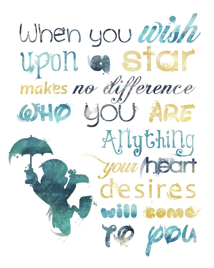 One of THE best quotes in Disney history. #Disney #Pinocchio #Jiminy #Cricket #etsy #Wish