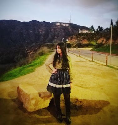LA - Hollywood sign. Hollywood dreaming - Los Angels - City of Angels