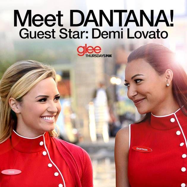 Demi Lovato's Dani and Naya Rivera's Santana: Glee's Dantana