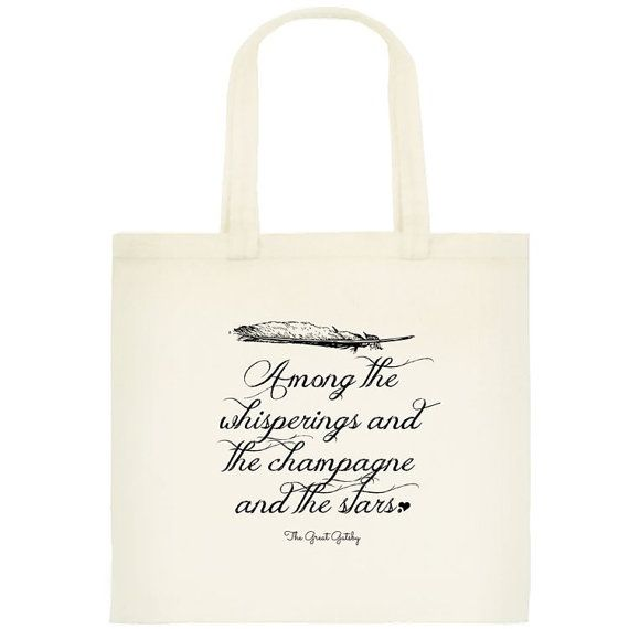 """""""The Champagne and the Stars"""" Tote 